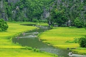Visiting Mua Cave Hoa Lu Tam Coc Full Day Tour