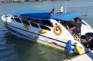 Private Speed Boat Phi Phi Islands Fully Customised Tour