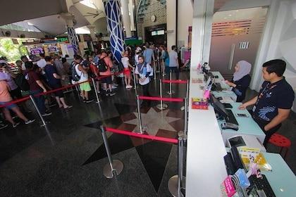 Admission Ticket Counter (Upper Ground Floor)