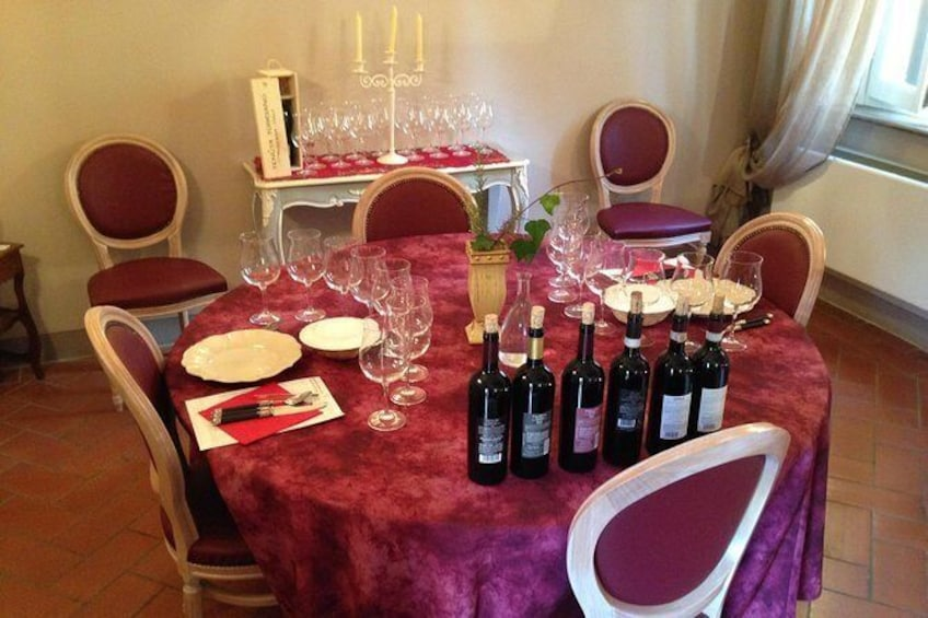Show item 1 of 7. Wine Tasting in Tuscany - Half Day Tour from Florence