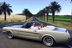 Barossa Uncut Half Day Classic Mustang Convertible Tour For 2