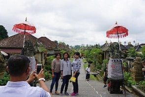 BALI PRIVATE TOUR TRADITIONAL VILLAGE AND WATERFALL THEN BEAUTIFUL VIRGIN B...