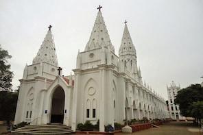 Sacred Pilgrimage Tour - Tour to Poondi Madha Basilica from Tiruchirappalli