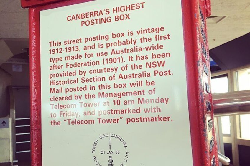 Show item 8 of 8. Skip the Line: Telstra Tower Observation Deck Ticket