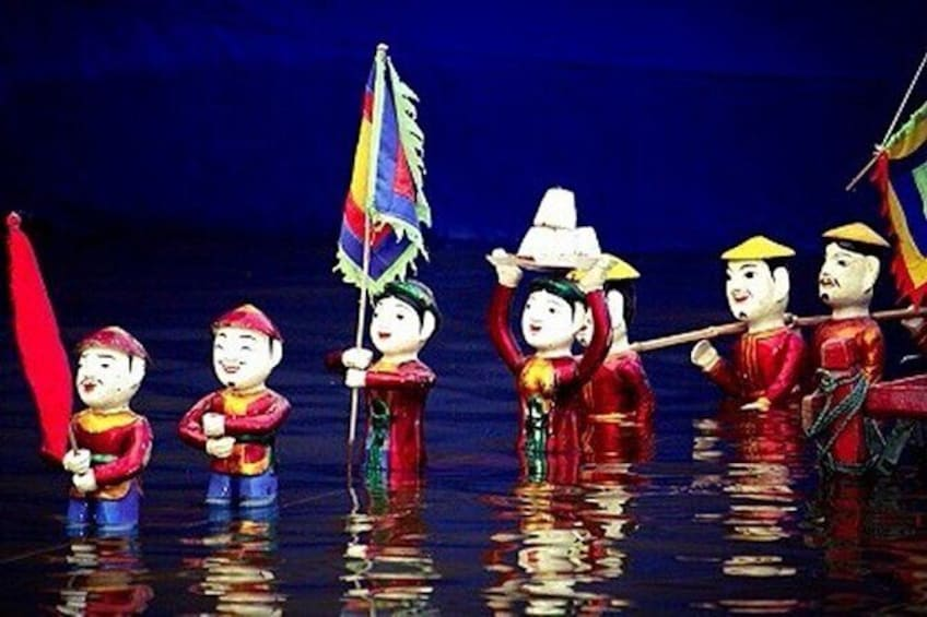Show item 4 of 7. Skip the Line: Golden Dragon Water Puppet Tickets