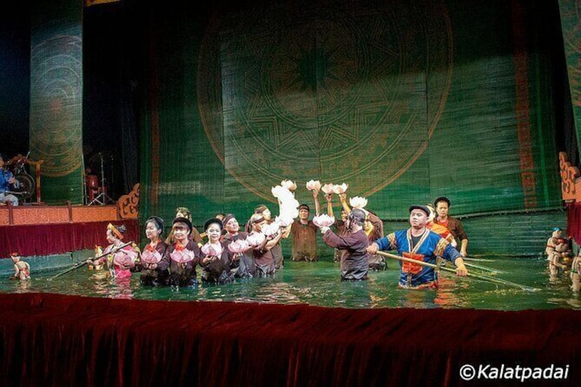 Show item 5 of 7. Skip the Line: Golden Dragon Water Puppet Tickets