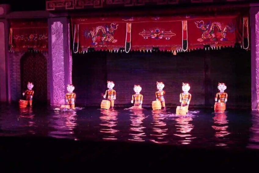 Show item 3 of 7. Skip the Line: Golden Dragon Water Puppet Tickets