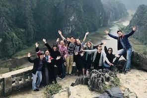 Hoa Lu Tam Coc Mua Cave Tour - Deluxe & Small Group Ninh Binh Tour from Han...