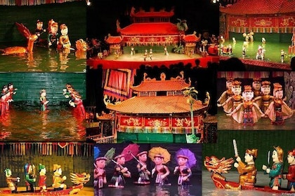 Skip the Line: Golden Dragon Water Puppet Entrance Ticket