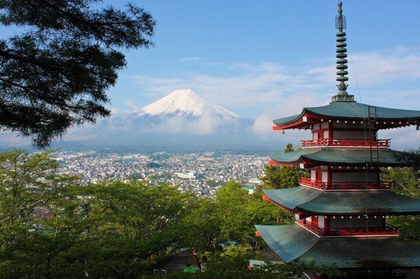 Experience Mt Fuji at your own pace without the hassle of a crowded bus tour