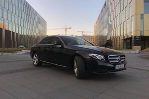 VIP transfer from Krakow to Zakopane - Mercedes E-Class with private driver