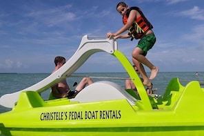 Christele's 30-minute Pedal Boat Rentals at Secret Beach