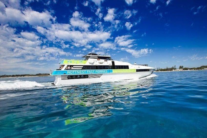 Our vessel, MV Seaflyte
