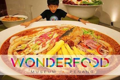 Wonderfood Museum Penang Admission Ticket