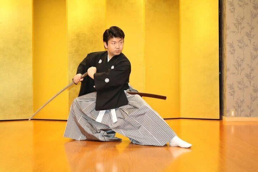 Samurai Performance and Casual Experience: Kyoto Ticket