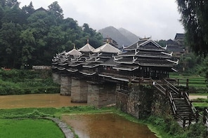 Private Transfer from Guilin to Zhaoxing and stops at Chengyang Dong Villag...