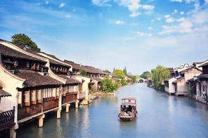 Hire a car with driver to Wuzhen Water Town