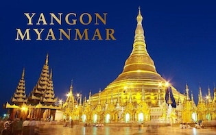 Private Yangon City Discovery Full Day Guided Tour