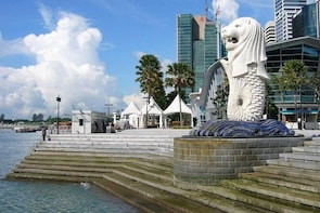 FULL DAY SINGAPORE PRIVATE CITY TOUR WITHOUT TOUR GUIDE IN MINIBUS