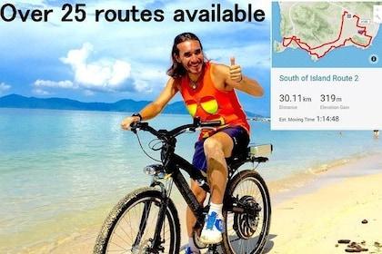Bike Riding - South of Island (Koh Samui)