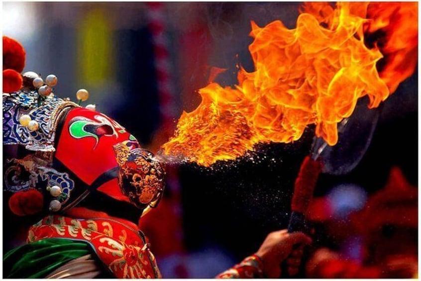 Sichuan Culture Opera Show in Chengdu