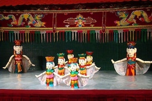 Golden Dragon Water Puppet Show in Ho Chi Minh City with Ticket Hotel Deliv...