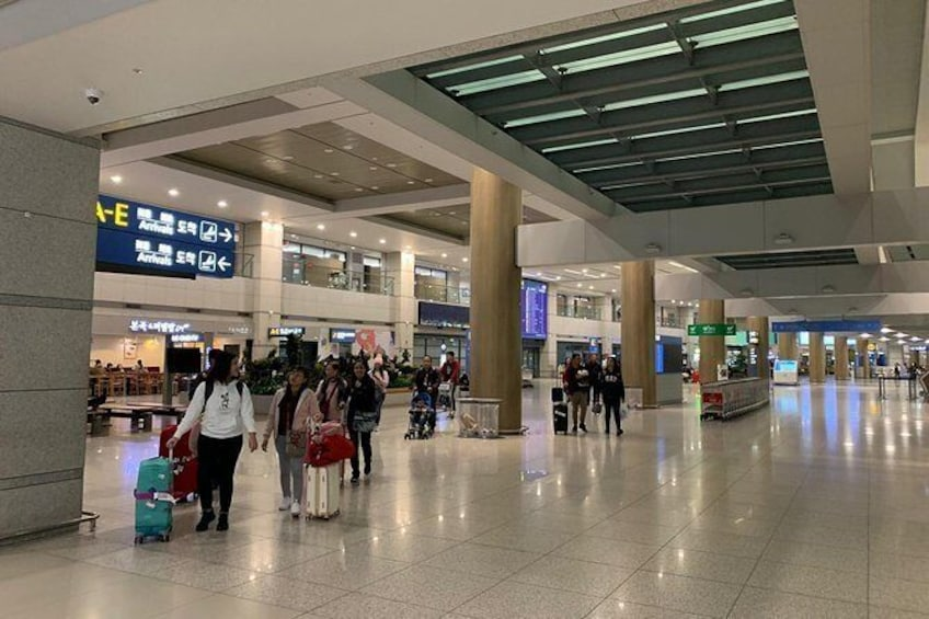 Show item 2 of 4. Incheon Airport Transfer- Private service between Airport and Seoul (1-7 pax)