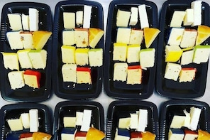 A Very Cheesey Cheese Tasting