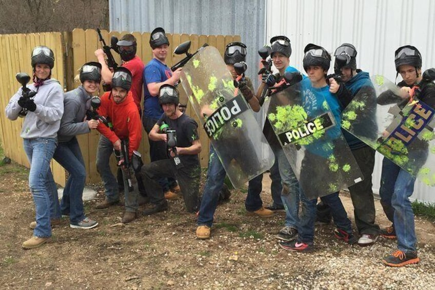 Show item 1 of 4. Adventure Valley Paintball Park