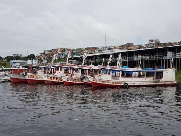 Speed Boat ticket Santa Rosa (Border Brazil Peru) to Iquitos (Peru)
