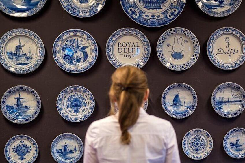 Royal Delft: Delftblue factory & museum ticket