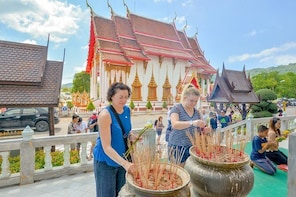 Phuket Landmark Tour , Wat Chalong , Big Bhudda