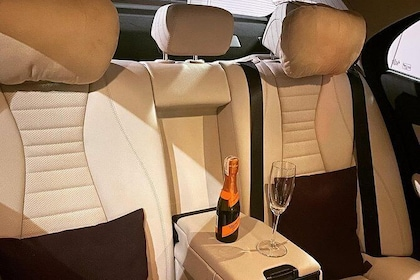 Luxury airport transfer in Krakow (KRK) - Mercedes E-Class with private driver