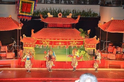 Traditional Performances & Water Puppet Show In Ho Chi Minh City