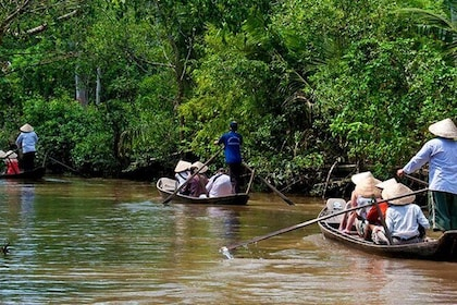 MEKONG DELTA and CU CHI TUNNEL DELUXE SMALL GROUP COMBINED FULL DAY MAX 12 PAX