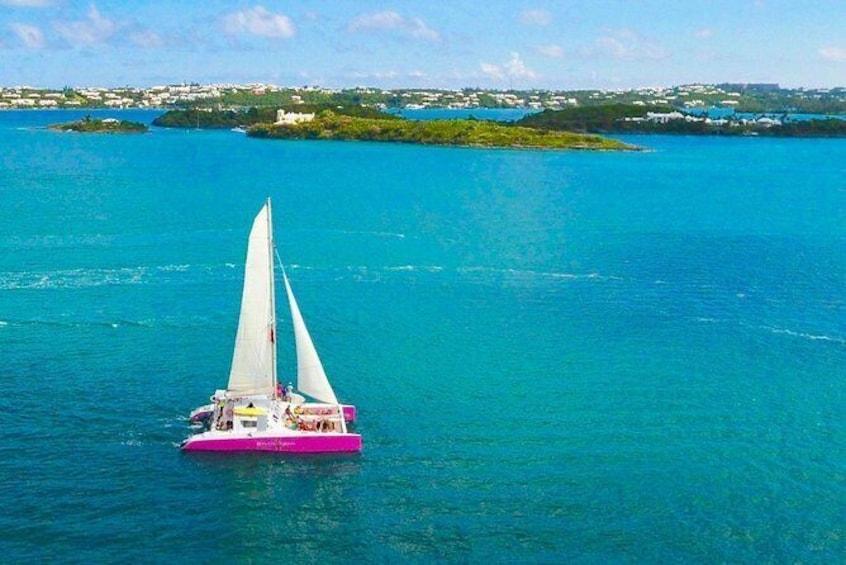 Bermuda Catamaran Sail and Snorkel Tour