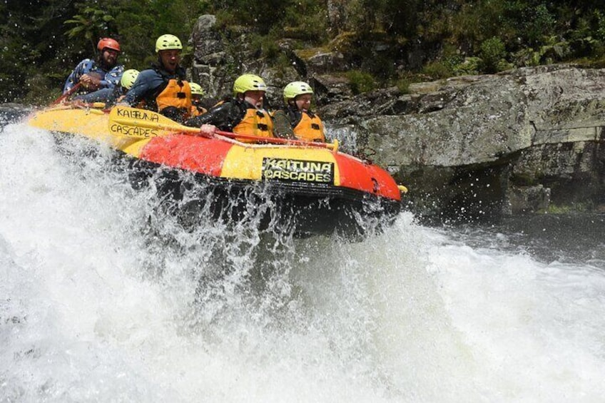Airtime on the Wairoa River