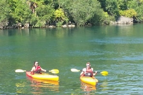Kayak the Waikato River Taupo