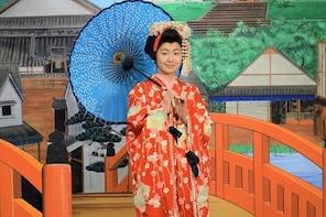 Kimono Experience with 1-Day Pass for Noboribetsu Date Jidaimura
