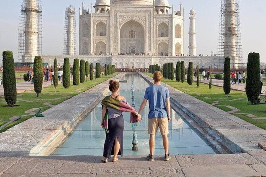 Show item 2 of 6. Private transfer from Delhi to Agra by car
