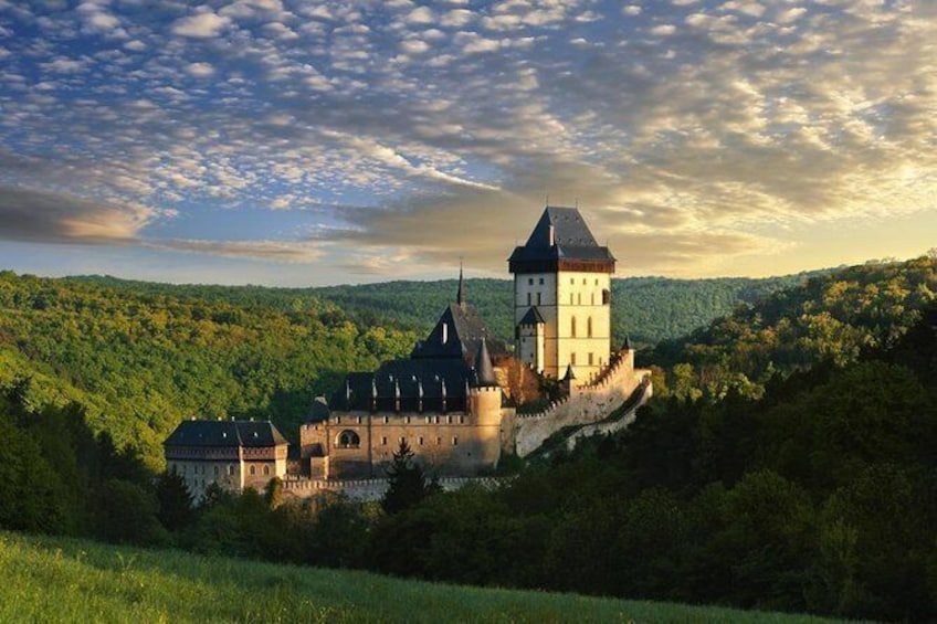 Show item 1 of 2. Private two way transfer tour to wonderful Karlstejn castle