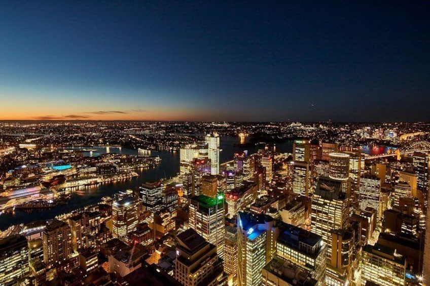 Sydney Tower View by Night