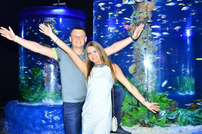 Show item 3 of 16. Skip the Line: Hurghada Grand Aquarium Entrance Ticket
