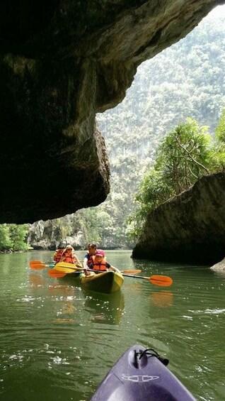 Half Day Tour Sea Cave Kayaking at Khao Karos Krabi