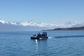 Hovercraft Ethereal Evening Experience Cruise on Lake Pukaki from Twizel