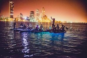 Small-Group Tour: LED Cartagena Sunset Paddle Board