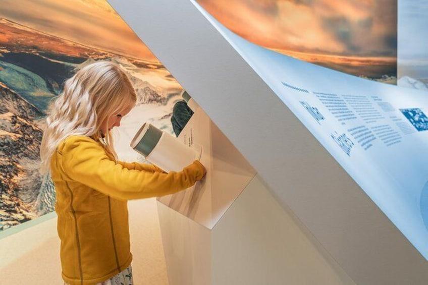Show item 3 of 8. Wonders of Iceland & Áróra - Northern Lights Planetarium Show
