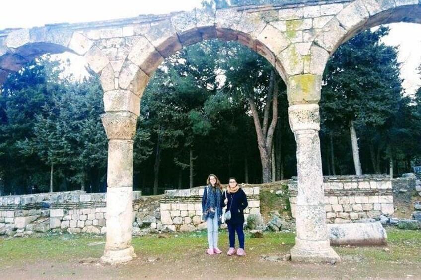 Anjar Ummayad Ruins beiruttransfer.com