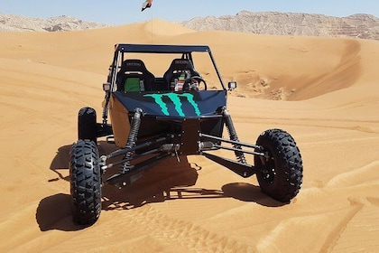 Sunrise Dune Buggy Excursion in the Red Desert with Camel Ride Combo