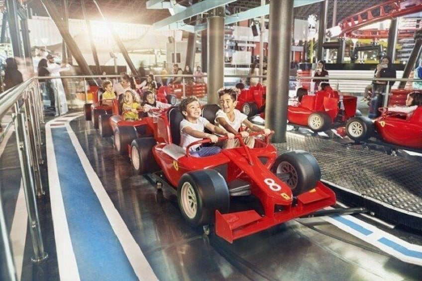Show item 2 of 4. Warner Bros World and Ferrari World Combo Ticket with transfer from Dubai